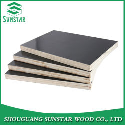 Wbp Poplar/Hardwood/Finger Joint/Bamboo Black/Brown/Red/Green/Anti-Slip/Waterproof Film Faced Marine Plywood Sheet For Construction/Building Material