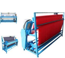 Pano de malha 2,2 m máquina de medição de inspeção de giro dos rolos de tecido têxtil Preço da máquina de enrolamento da bobina