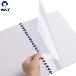 Uma tampa de encadernação PVC4 capa plástica rígida de PVC transparente da tampa do notebook