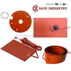 Riscaldatore flessibile elettrico fornito fabbrica del timpano di olio della gomma di silicone dell'OEM
