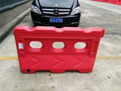 De blazende Plastic Barricades van de Veiligheid van het Verkeer Blokken van de Weg