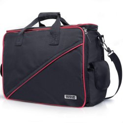 Grand sac à outils, outils d'électricien Pouch -18 pouces de large bouche ouverte