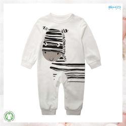 간단한 작풍 아기 의복 둥근 목 신생 Playsuit