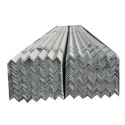 Matériaux de construction JIS SS400 Angle de barre d'acier Prix Doux