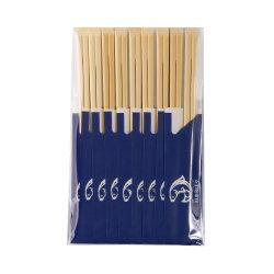 60gramme Customsize Logo d'impression papier Baguettes en Bambou marché de gros