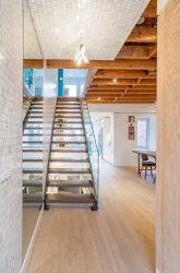 フォーシャンの建築材料の工場ホーム装飾の専門デザインの専門のエクスポートの安全まっすぐなステアケース