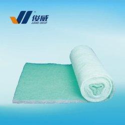 Vert et blanc 250g plancher d'arrêt de la peinture en fibre de verre filtre pour cabine de pulvérisation