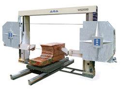 CNC het Gediversifiërde Graniet van de Zaag van de Draad van de Diamant Knipsel/Marmeren Vormen (WS2000)