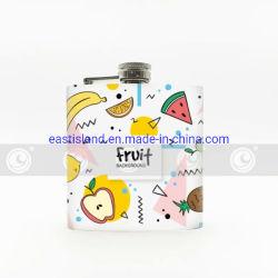 Fles van de Heup van de Zomer van het Patroon van het fruit de Mini voor de Gift van de Bevordering