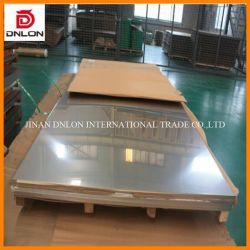 N° 1 2b Tisco 1.4404 316L de haute qualité (304 321 316 310S 430 310 904L) Plaque en acier inoxydable