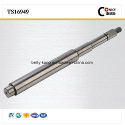La vente directe d'usinage CNC 3Cr13 l'arbre du moteur de fer en acier inoxydable