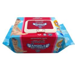 Ange de l'Afrique Ultra Premium lingettes humides de la qualité de serviettes de bain bébé