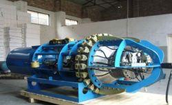 空気制御の大きい拡張力のパイプラインの内部整列クランプ