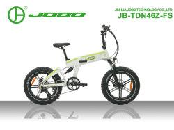 2019 des neuen des Ankunfts-elektrischen Fahrrad-faltender E schwanzloser Minimotor Fahrrad-Schnee-Fahrrad-fetter Gummireifen-500W