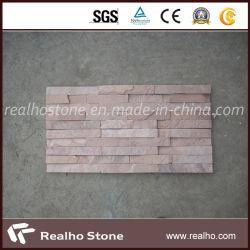 Chinesische natürliche gelbe/rostige/rosafarbene Schiefer-Fliesen für Wand-/Dach-Fliese