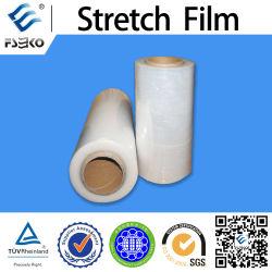 Película plástica de LLDPE del abrigo manual y automático del estiramiento