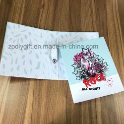 Personalizar el diseño impreso una4 Carpeta de anillas de cartón 2 alrededor de 1 pulgadas de cartón Archivo Carpeta Carpeta de anillas Carpeta de archivos