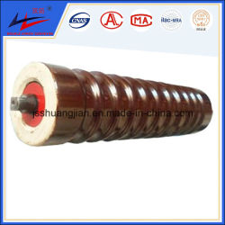 Fábrica de productos químicos de tensores de rodillo transportador de cerámica