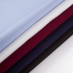 Wrinkle-Free amoníaco líquido 100 Acabado de sarga de algodón tejido blusas