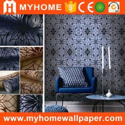 تصميم أسود وأبيض أنيق ذو خلفية ذات خلفية حائزةً على الجدران