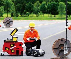Cámara de inspección de drenaje de canalización de alcantarillado con robot rastreador, Pan/ Tilt Camera, 150m de cable