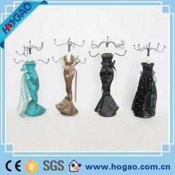 Élégante robe Ballgown Mannequin Earring NECKLACE Bijoux Présentoir titulaire