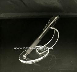 Clip a piuma unica acrilica di plastica su ordinazione del supporto