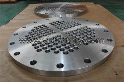 精密によって機械で造られる鍛造材鋼鉄SS316L管の版