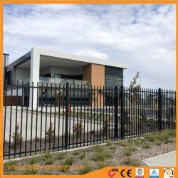 De aluminio termolacado lanza la parte superior del panel de valla de seguridad