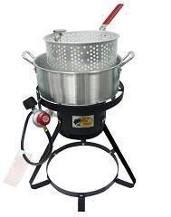 10.5qt Aluminium Fish Fryer Pot Kit