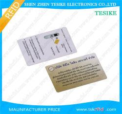 FM1108 en blanco a granel de chips RFID de Banda Magnética Tarjetas PVC