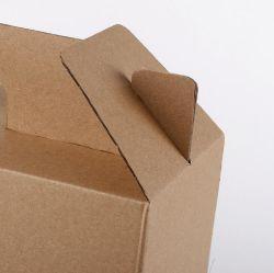 Fabricant de l'écrou de pliage Portable de la viande de papier kraft de fruits en carton ondulé Boîte d'emballage alimentaire
