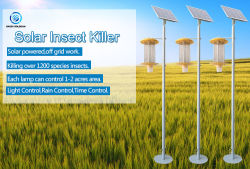 Produto de patentes Inseto Solar Killer Lâmpada para agricultura