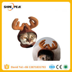 فائقة مضحكة دعوى لأنّ محبوبة [كستثم] قطّ حيوانيّ لباس كلب ملابس لأنّ قطّ [كسبلي] محبوبات منتوجات إلك قبّعة عيد ميلاد المسيح [إكسمس] خاصة