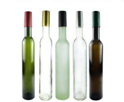Bottiglie di vino verdi antiche del ghiaccio da 375 ml Bellissima