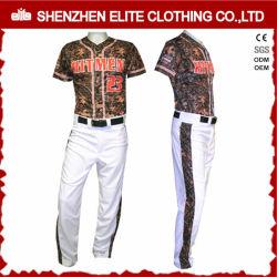 A China por grosso de OEM conjuntos de uniformes de beisebol por sublimação de tinta