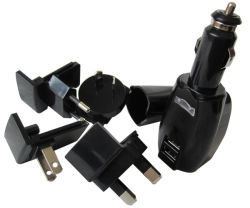 Tout en un seul kit Chargeur double USB