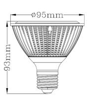 UL Energy Star яркости LED PAR30 12Вт Светодиодные PAR лампы