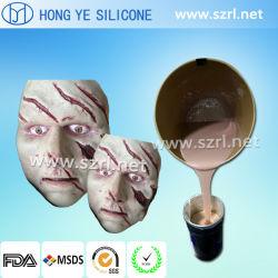 Rendendo a parte del corpo prostetica la gomma di silicone del tatuaggio RTV
