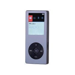Цинкового сплава высокое качество MP3 диктофон с 1,8-дюймовым дисплеем