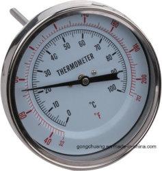 Разъем биметаллической пластины из нержавеющей стали термометр указатель температуры заднего крепления