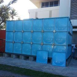10000галлон GRP FRP стекловолоконные вид в разрезе сборки панели SMC резервуар для хранения воды