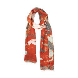 A Impressão Digital Design Personalizado Senhora lenço de lã