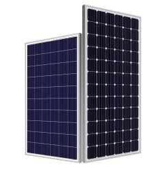 옥외 고능률 120W 330W 산업 가정을%s 360W Monocrystalline와 다결정 PV 모듈 단청 태양 전지판