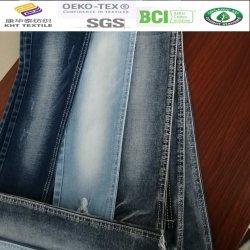 El estrés de algodón tejido Denim de textiles Kht