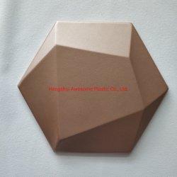 جلد PU صديق للبيئة 3D الجدار الديكور المياه مقاومة للمياه 3D الجدار الديكور اللوحة