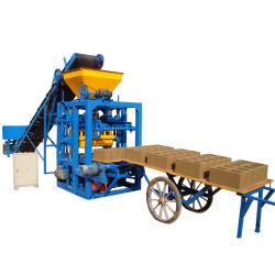 الموديل الجديد من الخرسانة صناعة الكتل الخرسانية Qt4-24 راصف الرمال آلات صنع الآجر