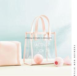 PVC Cosmetic Bag for Travel Summer Beach Tote Bag transparant Opbergtas