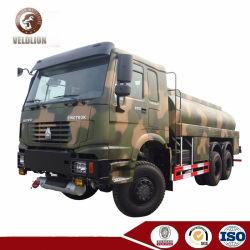 HOWO 6X4 de 12 ruedas 6X6 accionan 20000L 18000L 22000L 25000L de reabastecimiento de combustible de transporte de combustible de 18 ton 20ton 25ton camión cisterna de combustible