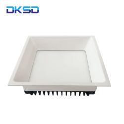 ضمان 3 سنوات LED مربع LED أسفل فندق عالي الجودة مصباح LED منخفض SSMD Dk30140CF بقدرة 20 واط مع 4000 ألف لفة في الدقيقة IP20